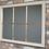 Thumbnail: Miroir effet fenêtre blanc et doré