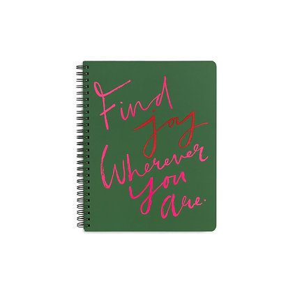 "Cahier ""Find Joy"""