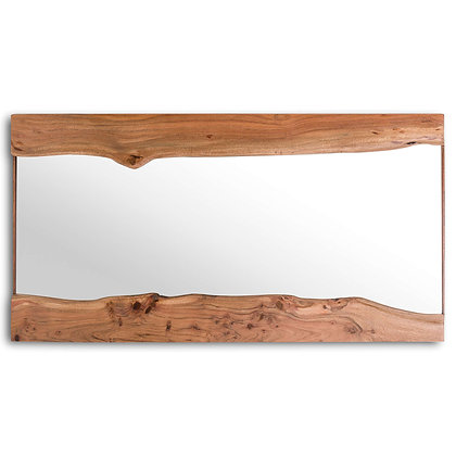 Miroir bois naturel (en réapprovisionnement)