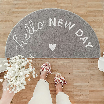 """Tapis lavable """"New day"""""""