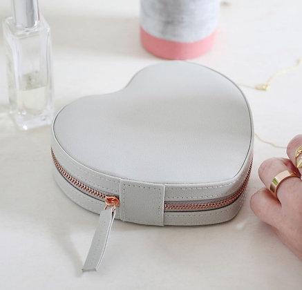 Boîte à bijoux de voyage «Heart»