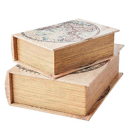 Lot de deux boîtes livres