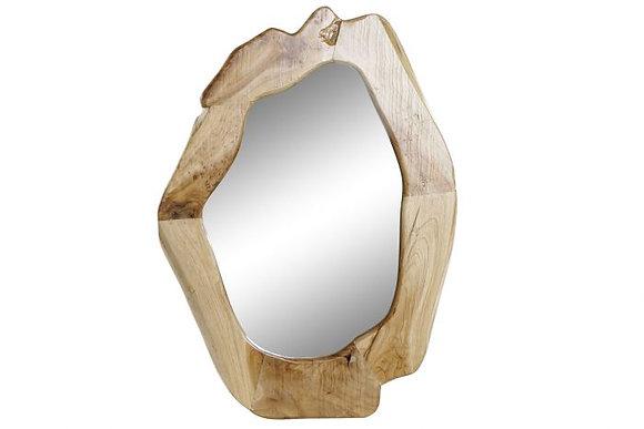 "Miroir en bois naturel ""Owak"" (précommande)"