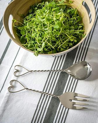 """Couverts à salade """"Twist"""" (précommande)"""
