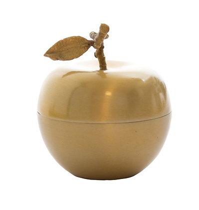 Bougie parfumée pomme doré