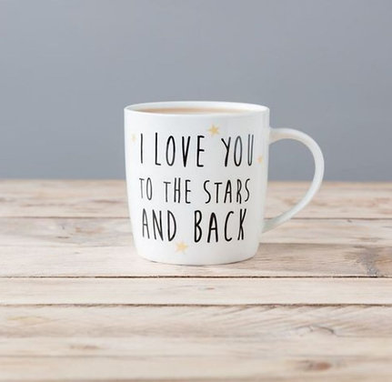 Mug «love you to the stars and back»