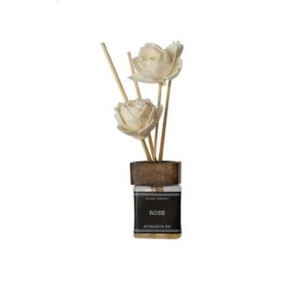 Diffuseur rose ornement floral