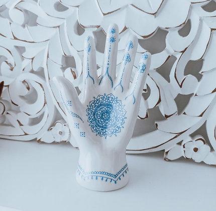 """Porte bijoux """"Henna hand"""""""