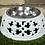 Thumbnail: Gamelle en métal blanc à ornements