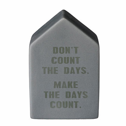 """Décoration maison en ciment """"Count"""""""