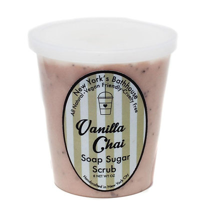 Gommage extra doux «Vanilla Chai Late» vegan fabriqué à New-York