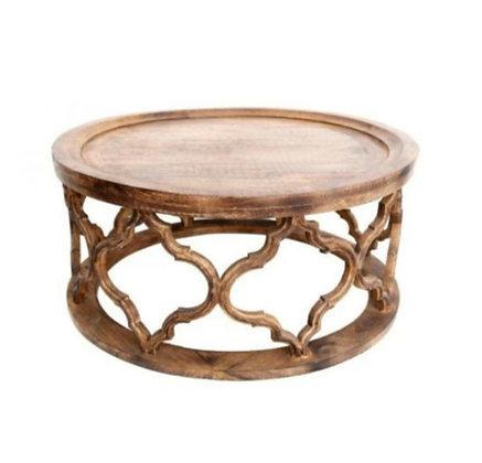 """Table basse en bois sculpté """"Jaka"""" (précommande)"""