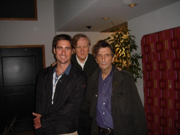 Harry Dean Stanton, Luke Wilson & TB