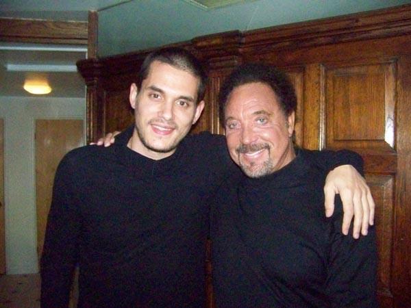 John Mayer and Tom Jones