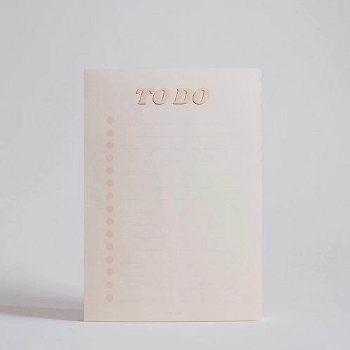To-Do Muistilehtiö