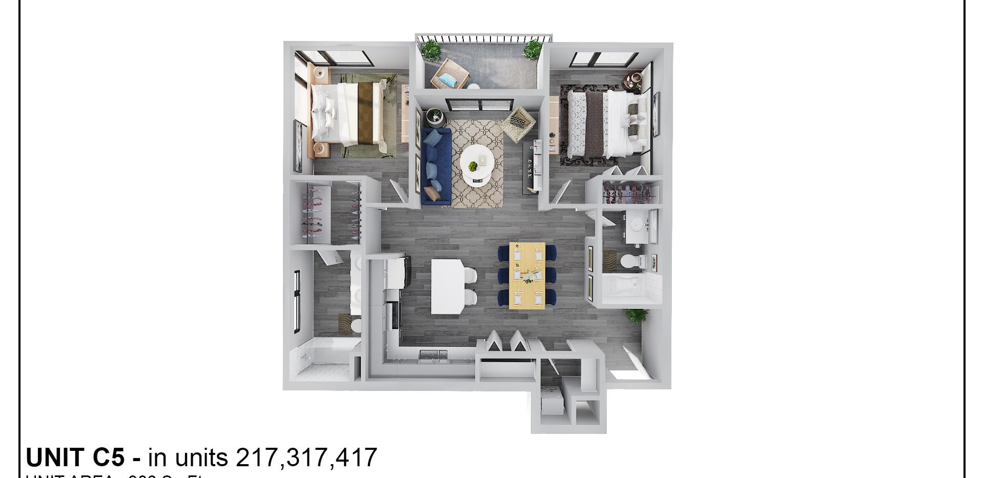 Floor Two - Unit C5 - 217