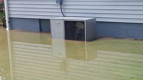 5126 Rosemont. July 2016 Flood Event Pho