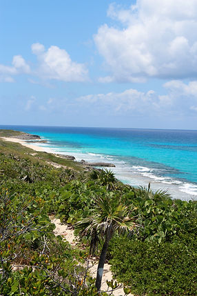 Great views from dune top trails | Best Hiking on Exuma