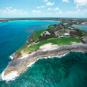 Golf at Greg Norman Course, Sandals Emerald Reef