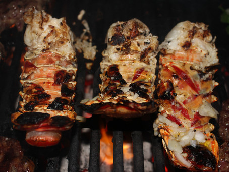 How to BBQ an Exuma Lobster
