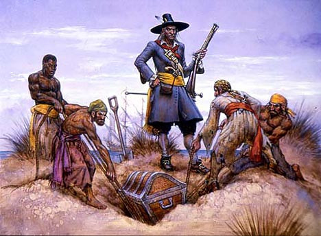 Kidd burying treasure.jpg