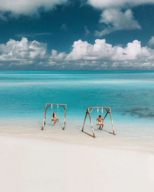 Cocoplum Beach Swings and Sandollars | Best Things to Do in Exuma
