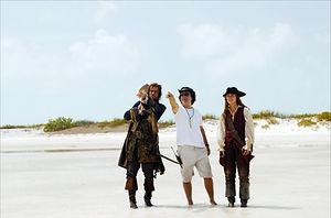 Pirates of the Caribbean Shooting   White Cay, Exuma, Bahamas