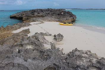 Kayaking in Exuma, Bahamas