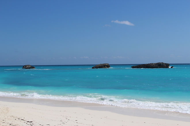 Three Sisters Beach | Best Beaches in Exuma