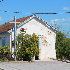 Tiny Church on Little Exuma