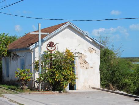 Tiny Church on Little Exuma
