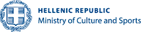 Ministry of Culture and sports hellenic republic logo