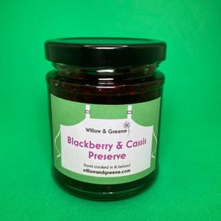 Blackberry & Cassis Preserve
