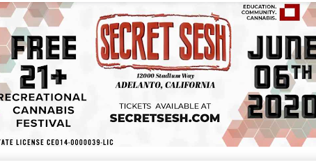 Secret Sesh Festival - The Cannabis Community