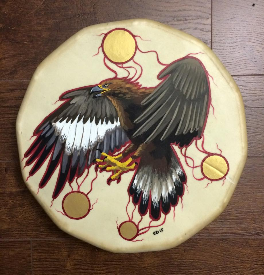 Golden Eagle Drum