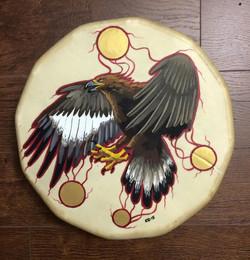 Golden Eagle Drum