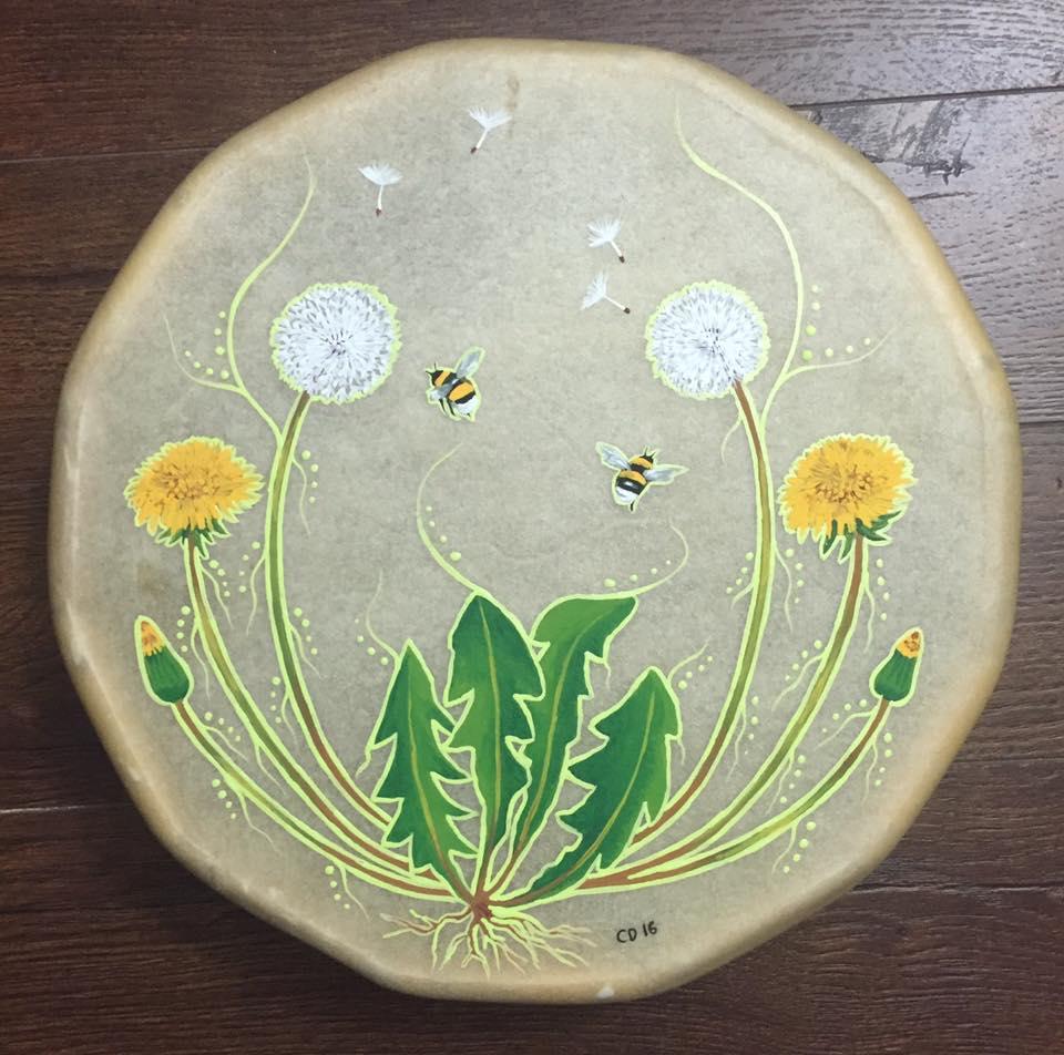 Bumblebees & Dandelions Drum
