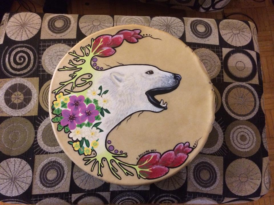 Polar Bear and Nunavut Florals
