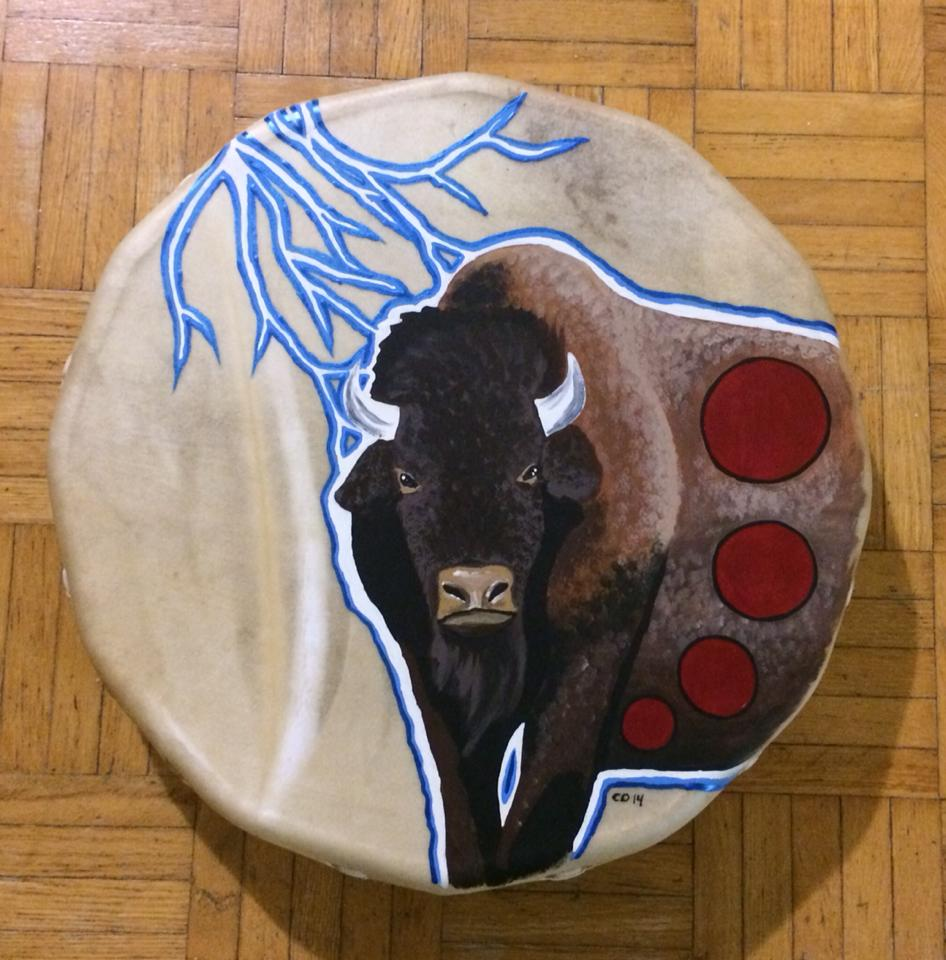Lightning Buffalo Drum