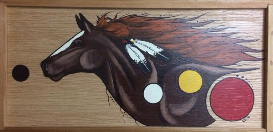 Chestnut Horse Box