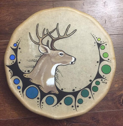 Swimming Deer Drum