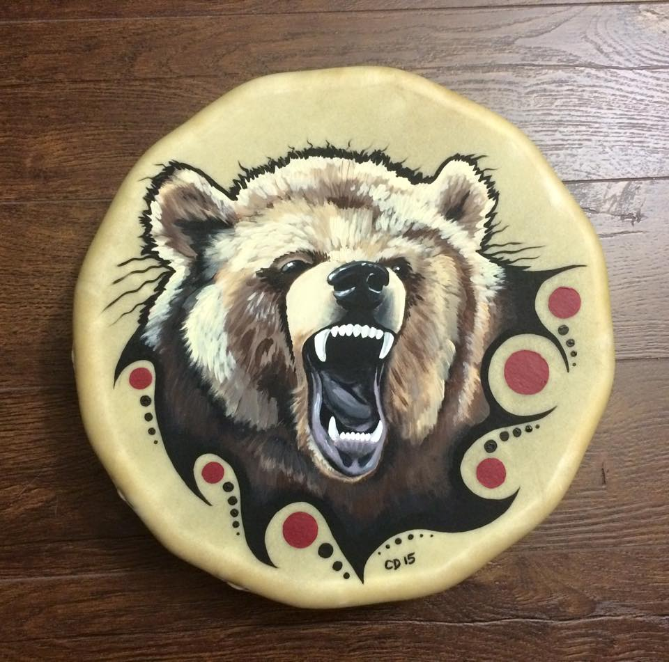 Grizzy Bear Drum