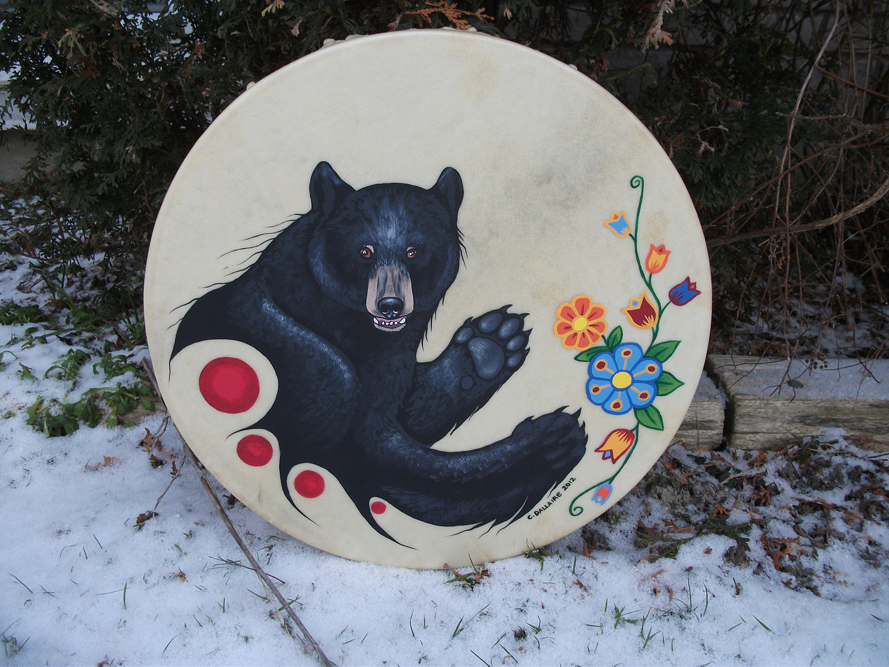 Bear and Woodland Florals