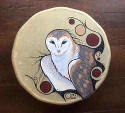 Barn Owl Drum