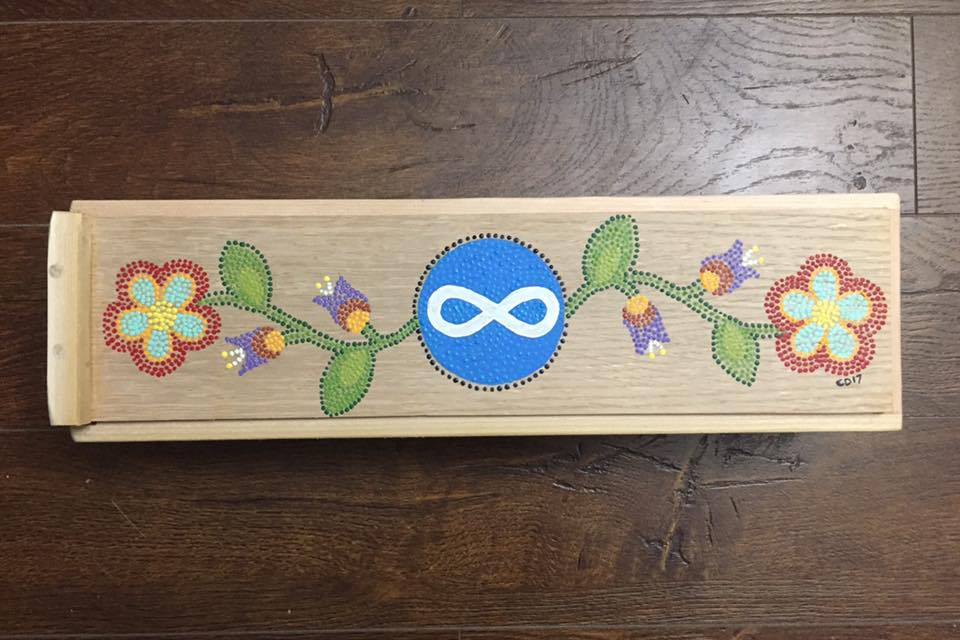 Métis Feather Box