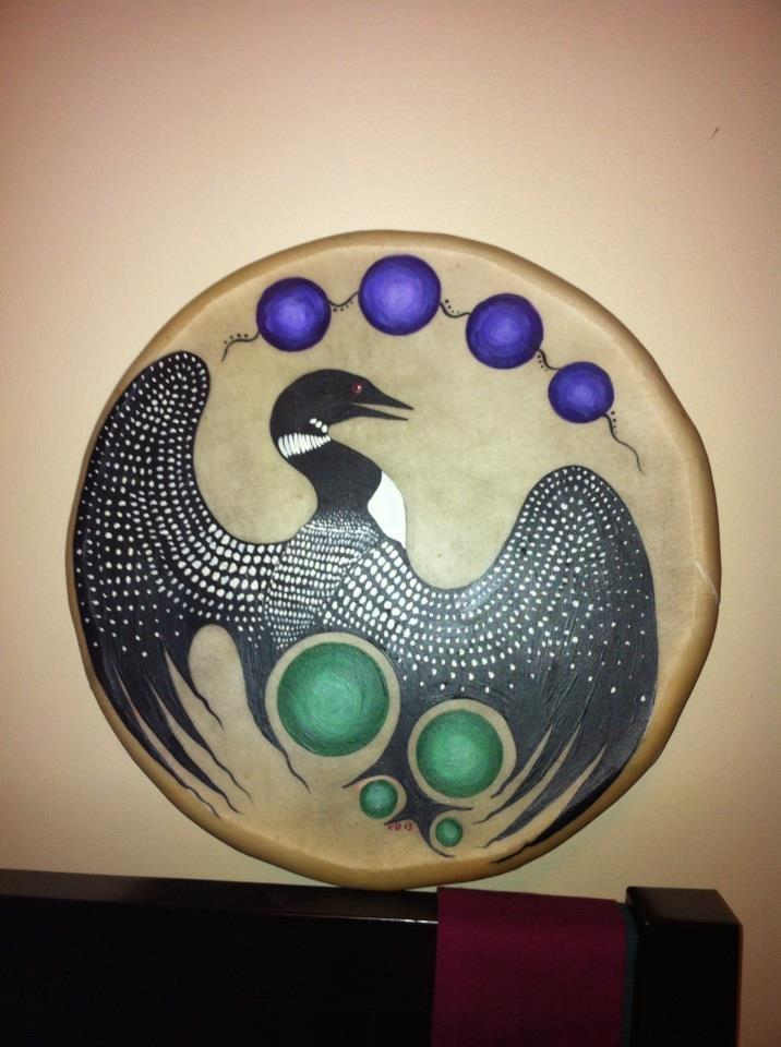 Loon Clan Drum