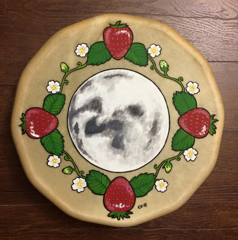 Strawberry Moon Drum