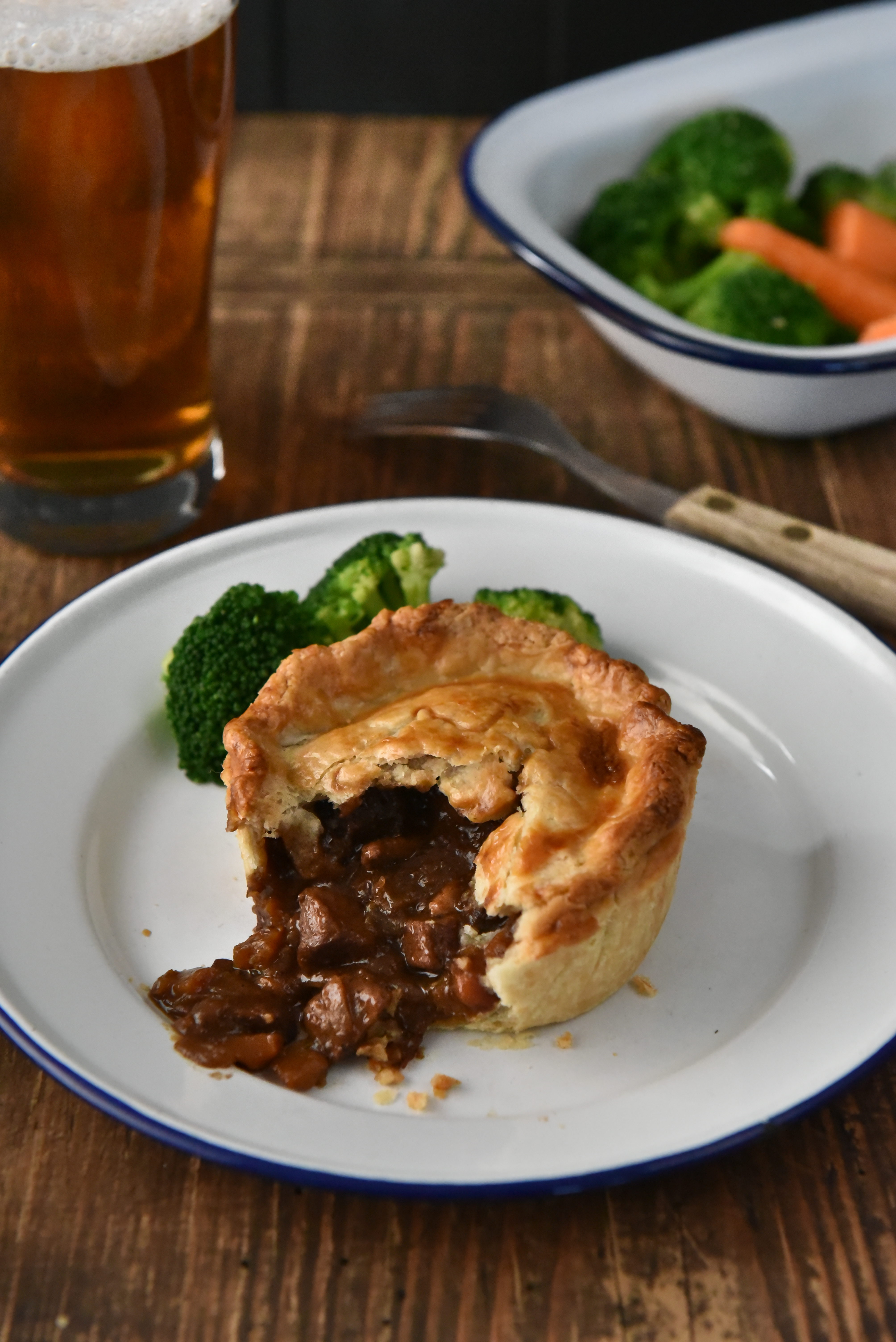 Pie making Truly traceable
