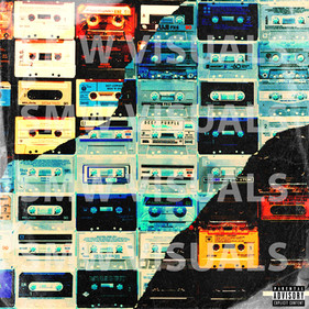 VINTAGE TAPES COVER ART TEMPLATE