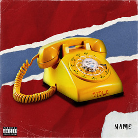 TELEPHONE POPART COVER ART TEMPLATE
